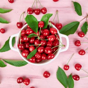 cherries bowl